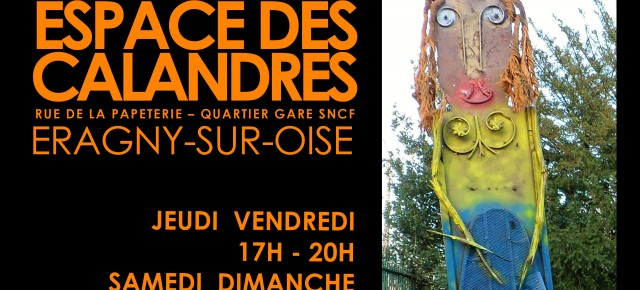 20 ANS D'ART CHAUVE aux Calandres à Eragny