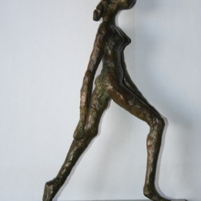 Femme en marche